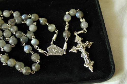 8mm Labradorite rosary